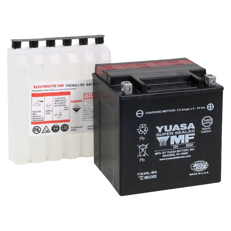 Yuasa YIX30L-BS AGM Battery