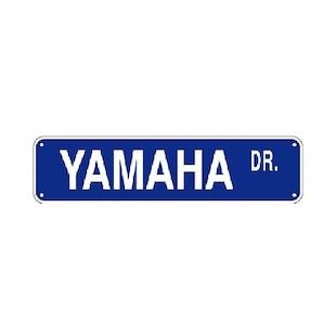 M/C Enterprises Yamaha Dr. Street Sign