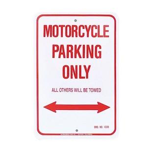 M/C Enterprises Suzuki Parking Sign
