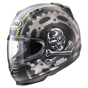 Arai Defiant Jolly Roger Helmet
