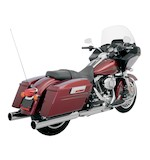 "Klock Werks Super Saver 4"" Slip-On Mufflers For Harley Touring 1995-2014"