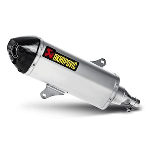 Akrapovic Slip-On Exhaust Piaggio Beverly 350 2012-2016