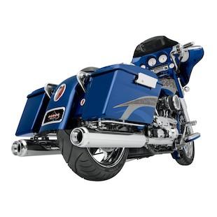 "Klock Werks WFB 4"" Performance Slip-On Mufflers For Harley Touring 1995-2014"