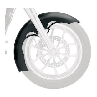Klock Werks Tude Tire Hugger Series Front Fender For Harley Softail 1986-2017