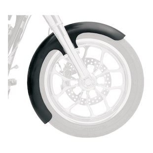 Klock Werks Wrapper Tire Hugger Series Skinny Front Fender For Harley Softail / Dyna 1984-2013