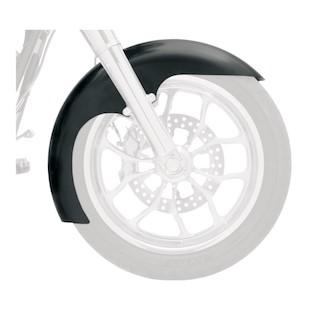 Klock Werks Level Tire Hugger Series Skinny Front Fender For Harley Softail / Dyna 1984-2013