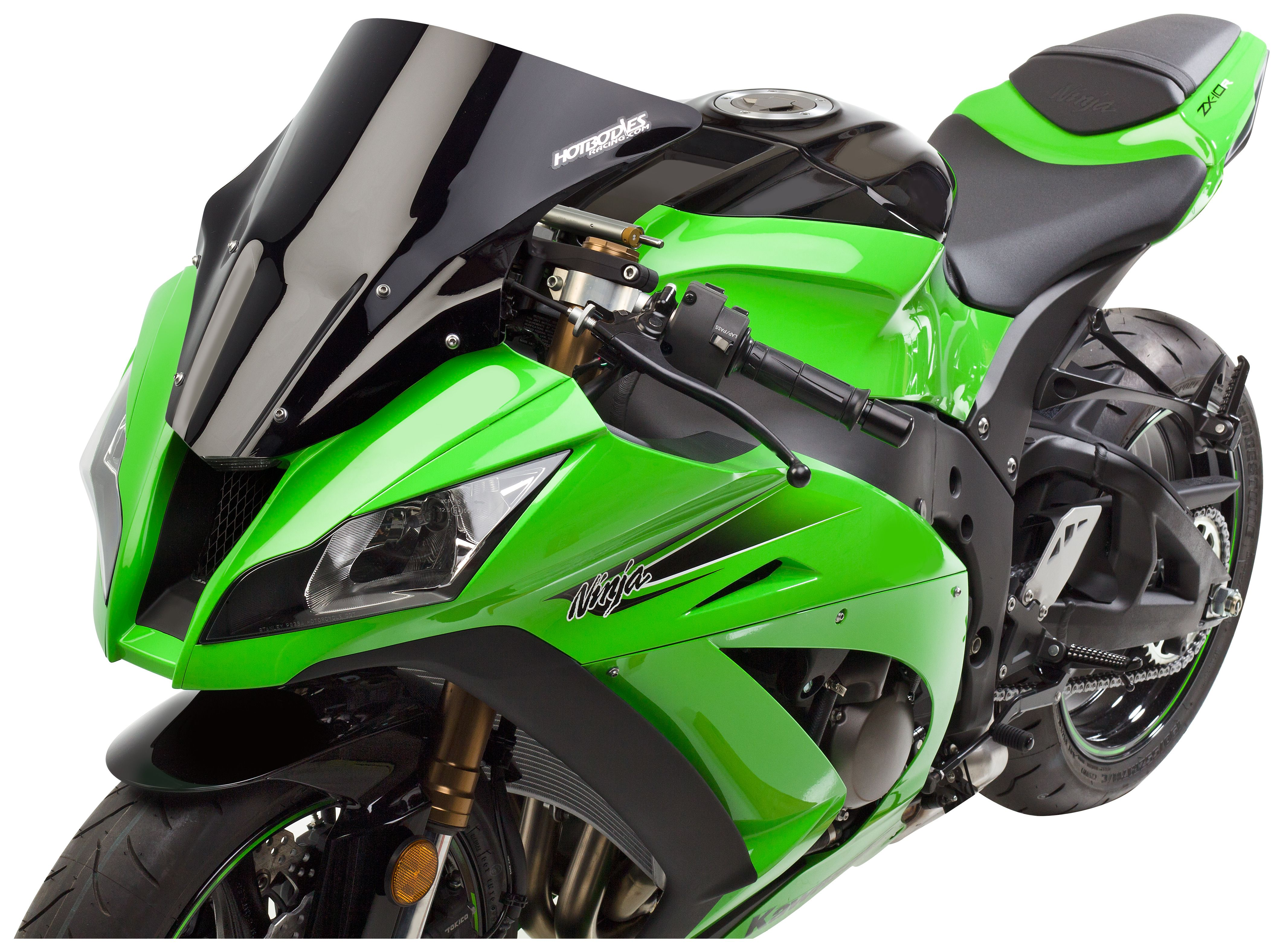 Hotbodies Venom Windscreen Kawasaki ZX10R 2011 2015