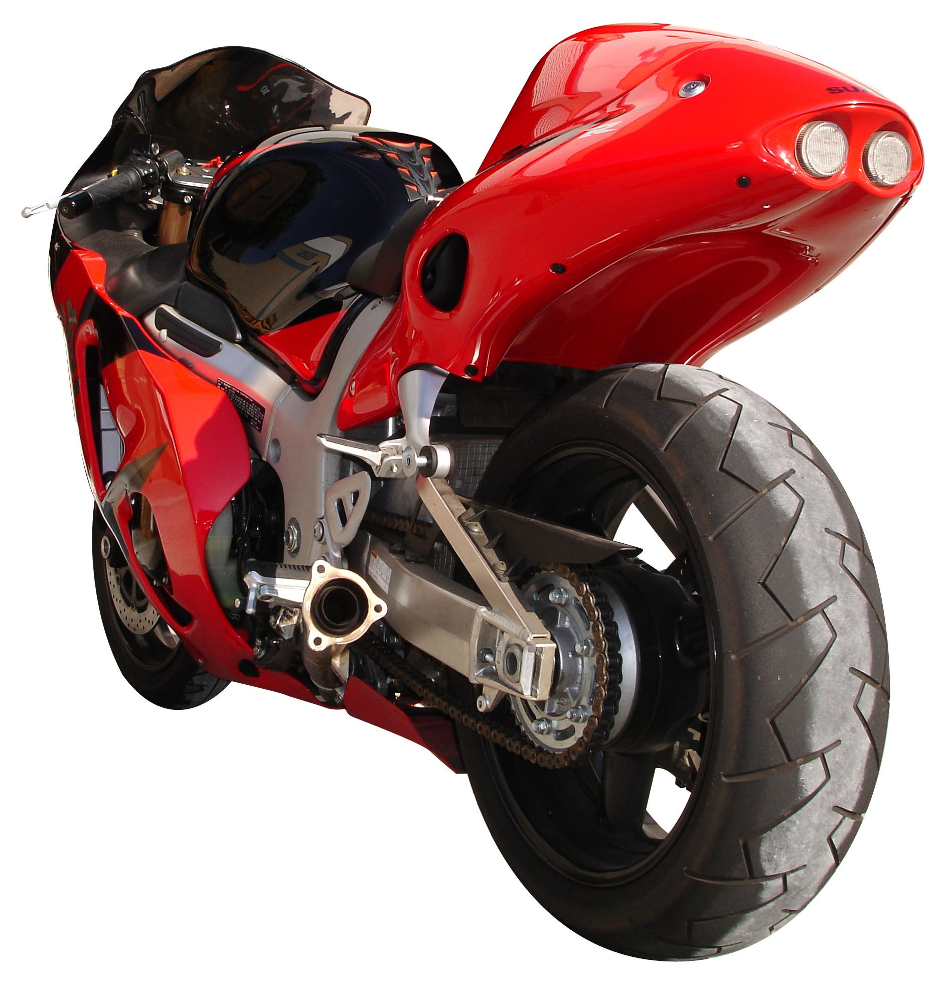 Hotbodies Superbike 2 Undertail Kit Suzuki GSX1300R Hayabusa 1999 2007