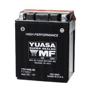 yuasa ytx14ahl-bs high performance agm battery  fits your 1983 yamaha xj900  seca