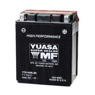 Yuasa YTX14AHL-BS High Performance AGM Battery