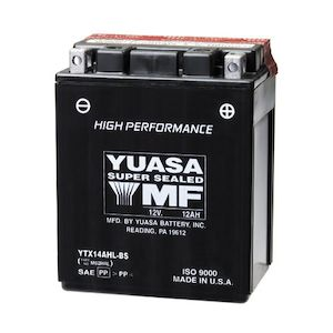 Yuasa YTX14AH-BS High Performance AGM Battery