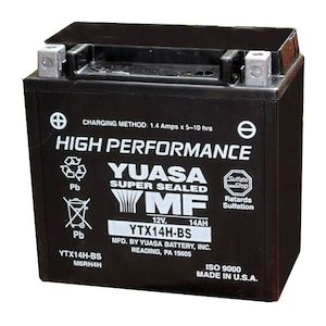 Yuasa YTX14H-BS High Performance AGM Battery