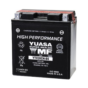 Yuasa YTX20CH-BS High Performance AGM Battery
