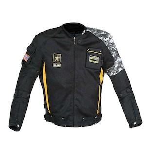 Joe Rocket Army Camo Delta Jacket