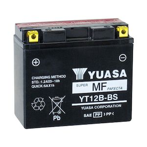 Yuasa YT12B-BS AGM Battery