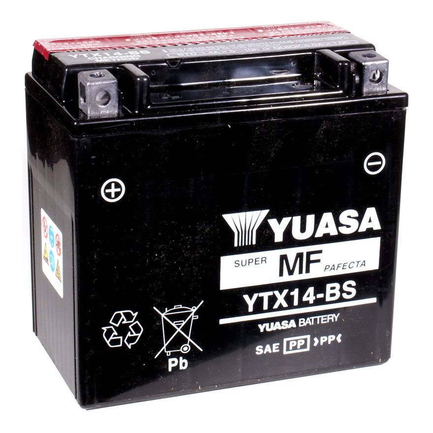 Yuasa Ytx Bs Motorcycle Battery
