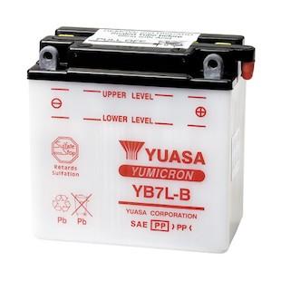 Yuasa YB7L-B Yumicron Conventional Battery