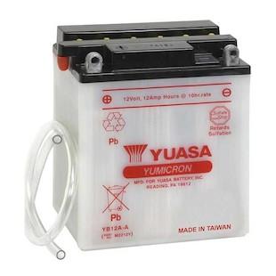 Yuasa YB12A-A Yumicron Conventional Battery