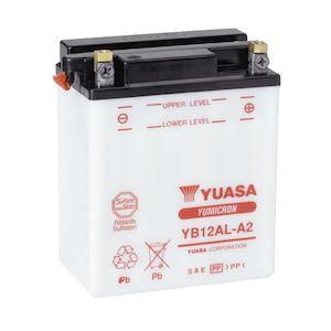 Yuasa YB12AL-A2 Yumicron Conventional Battery
