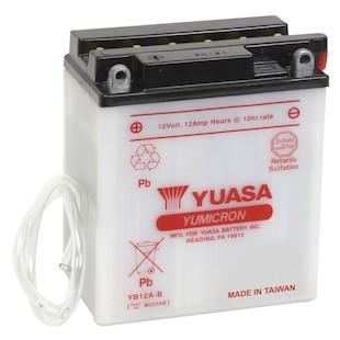Yuasa YB12A-B Yumicron Conventional Battery