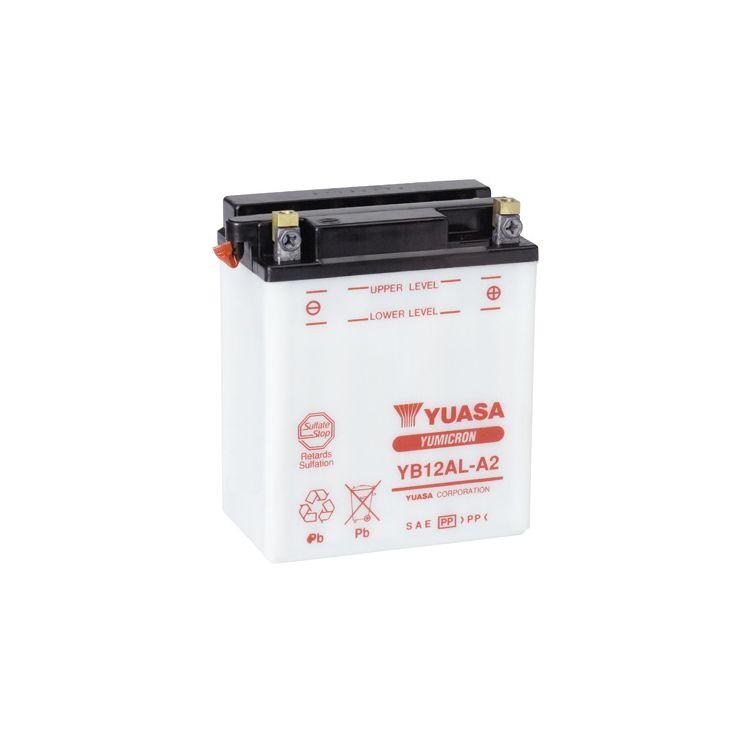 Yuasa YB12AL-A Yumicron Conventional Battery