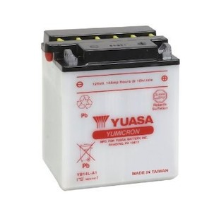 Yuasa YB14L-A1 Yumicron Conventional Battery