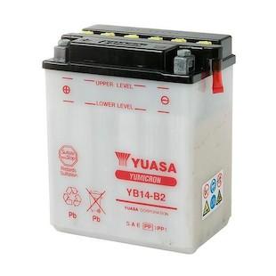 Yuasa YB14-B2 Yumicron Conventional Battery