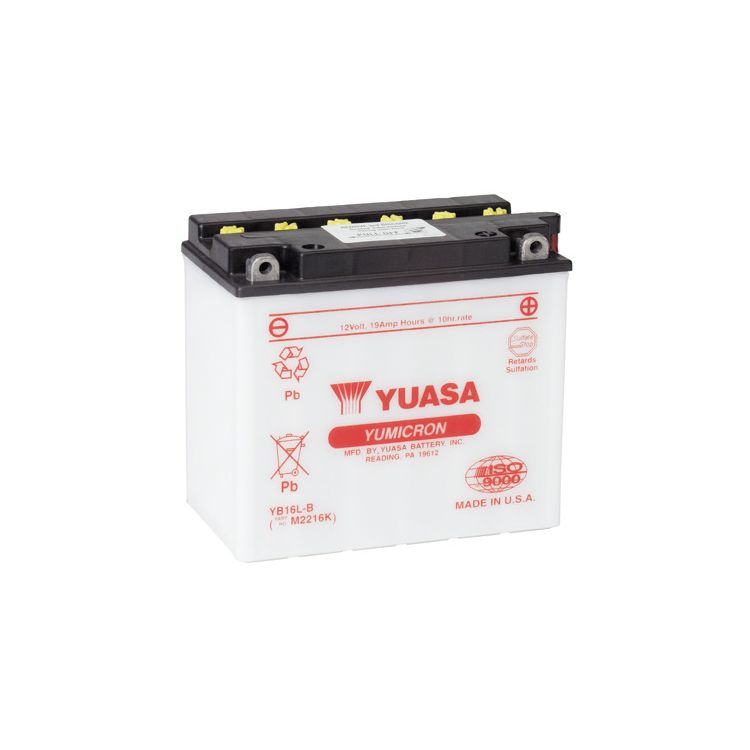 Yuasa YB16L-B Yumicron Conventional Battery