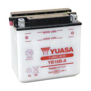 Yuasa YB16B-A Yumicron Conventional Battery