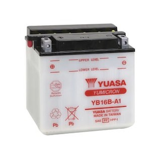 Yuasa YB16B-A1 Yumicron Conventional Battery
