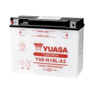 Yuasa Y50-N18L-A3 Yumicron Conventional Battery