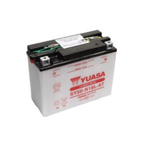 Yuasa SY50-N18L-AT Yumicron Conventional Battery