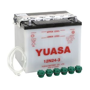 Yuasa 12N24-3 Conventional Battery
