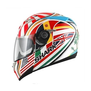 Shark S700 Zarco Replica Helmet (Size MD Only)