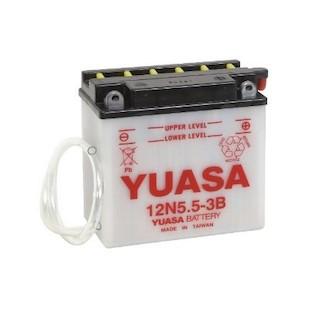 Yuasa 12N5.5-3B Conventional Battery