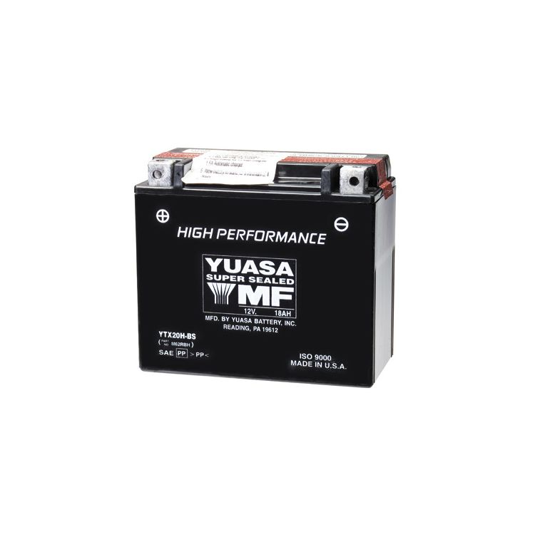 Yuasa YTX20H-BS High Performance AGM Battery