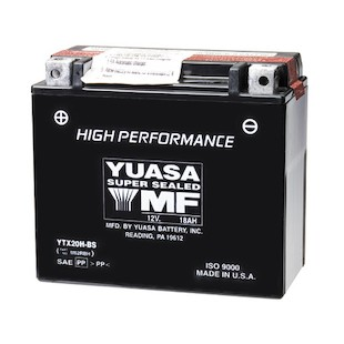 Yuasa YTX20H-BS High Performance AGM Battery