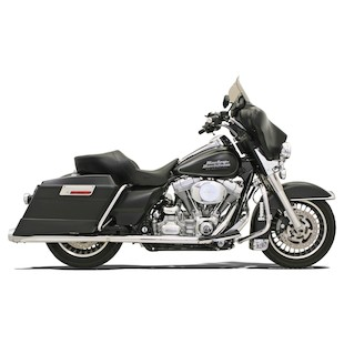 Bassani Power Curve True Dual Crossover Head Pipes For Harley Touring