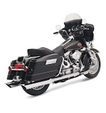 "Bassani 4"" Mufflers For Harley"