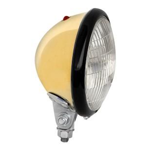 "Paughco Brass 5.25"" Headlight"