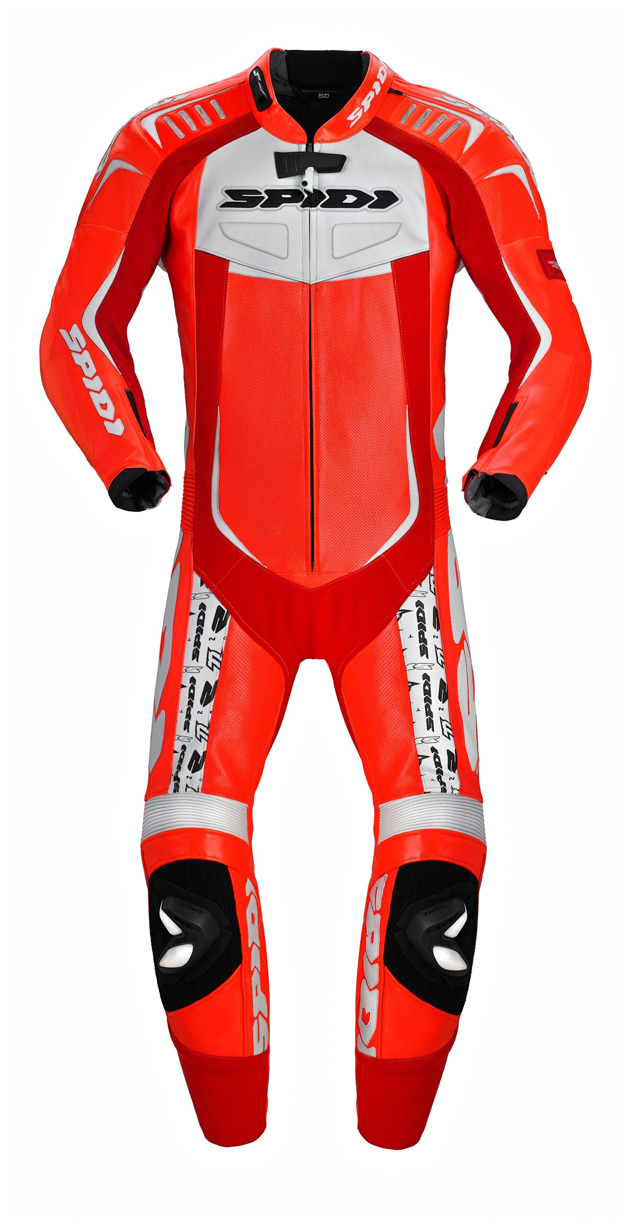 Spidi Track Wind Pro Replica Race Suit Sz 54 Only 15