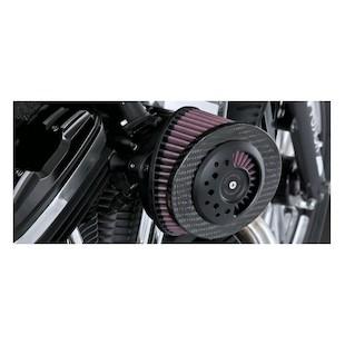Roland Sands Slant Carbon Fiber Air Cleaner For Harley