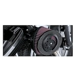 Roland Sands Slant Carbon Fiber Air Cleaner For Harley