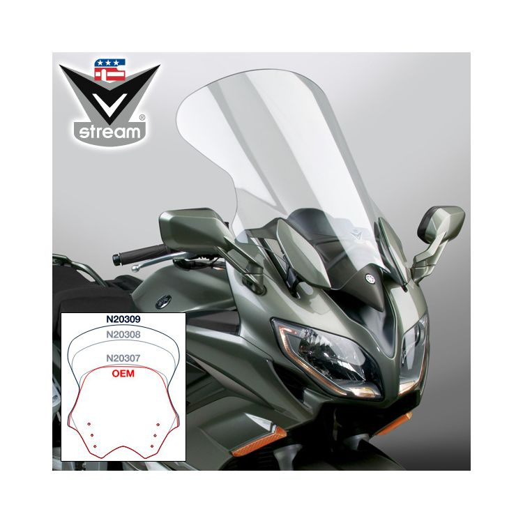 National Cycle VStream Tall Touring Windscreen Yamaha FJR1300 2013-2018