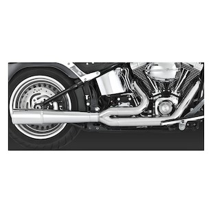Vance & Hines 2-Into-1 Pro Pipe Exhaust For Harley
