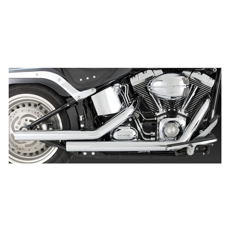 Vance & Hines Straightshots Exhaust For Harley