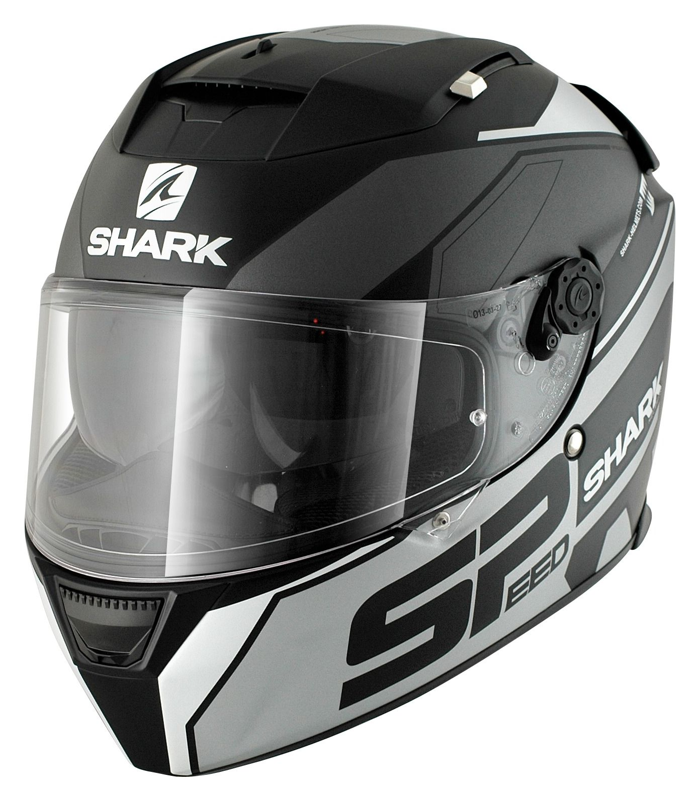 shark speed r sauer matte helmet size xl only revzilla. Black Bedroom Furniture Sets. Home Design Ideas