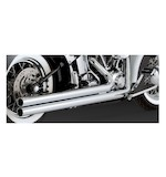 Vance & Hines Big Shots Long Exhaust For Harley Softail