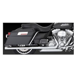 Vance & Hines Big Shots Duals Exhaust For Harley Touring