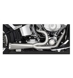 Vance & Hines Competition Series 2-Into-1 Exhaust For Harley